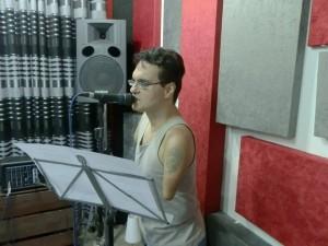 Dudé em estúdio