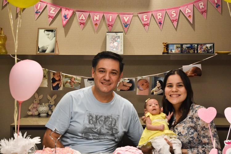 O primeiro Dia da Criança de Rafinha será muito mais festejado pelos pais!